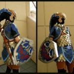 Amazing Zora Armor Link Cosplay [pic]