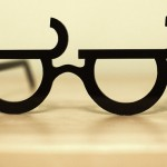 Look of Disapproval Emoticon Glasses [pic]
