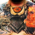 Stunning Lord of the Rings Chest Tattoo [pic]