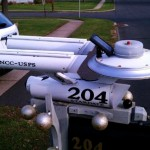 Solar Powed Star Trek Mailbox [pic]
