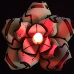 Papercraft GLaDOS Hairflower With LED Light [pic]