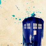 Doctor Who TARDIS Painting [pic]