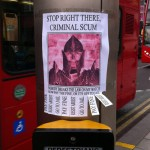 Crazy Skyrim Flyer Spotted at a Crosswalk [pic]
