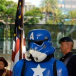 Stormtrooper in Captain America Cosplay [pic]