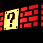 Super Mario Bros Question Block and Bricks Lamp [pic]