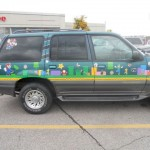 Super Mario Bros Themed SUV [pic]