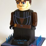 Anakin Skywalker LEGO Star Wars Cake [pic]