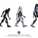 Battlestar Galactica Evolution of the Cylon Poster [pic]