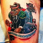 Bebop and Rocksteady Tattoo [pic]
