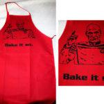 Star Trek Bake It So Cooking Apron [pic]