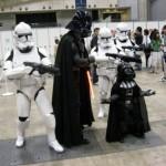 Darth Vader and Mini Darth Vader Cosplay [pic]