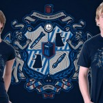 Doctor Who Whovian Crest T-Shirt for $10 Today Only! [pic]