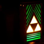 Legend of Zelda Triforce Lamp [pics]