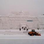 53-Foot Tall Optimus Prime Snow Sculpture [pic]