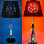 Star Wars Lightsaber Table Lamps [pic]