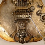 Custom Steampunk Guitar [pic]