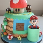 Awesome Super Mario World Birthday Cake [pics]