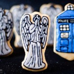 Weeping Angel and TARDIS Cookies [pic]