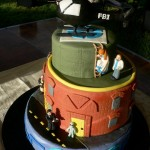 X-Files Wedding Cake [pic]
