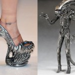 Alien-Inspired High-Heel Shoes [Pic]