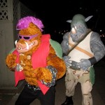 Teenage Mutant Ninja Turtles Bebop And Rocksteady Cosplay [pic]