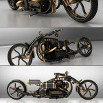 Amazing Steampunk Motorcycle [pic]