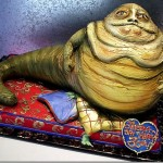 Awesome Jabba The Hutt Birthday Cake [pic]