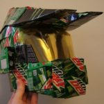 Halo Master Chief Helmet Made From Mountain Dew Boxes [pic]
