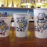 More Pokemon Themed Coffee Cup Sizes [pic]
