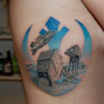 Star Wars Battle of Hoth Tattoo [pic]