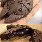 Delicious Looking Chocolate Millennium Falcon [pic]