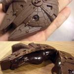 Delicious Looking Chocolate Millennium Falcon [pic]