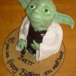Yoda 40th Birthday Cake [pic]