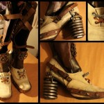 Steampunk Portal Cosplay Boots [pic]