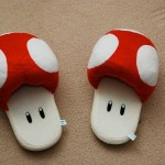 Super Mario Bros Mushroom Slippers [pic]