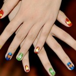 Superhero Fingernail Art [pic]