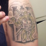 Teenage Mutant Ninja Turtles Arm Tattoo [pic]