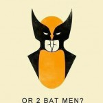 Wolverine or Batman Looking Into a Mirror? [pic]