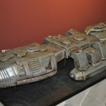 Battlestar Galactica Wedding Cake [pics]