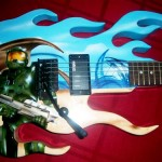 Stunning Custom Halo Guitar [pic]