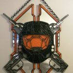 Halo Legendary Spartan Shield Stained Glass [pic]