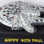 Awesome Millennium Falcon Birthday Cake [pic]