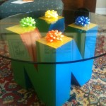 This Nintendo 64 Logo Coffee Table Makes Me Jealous [pic]