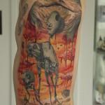 Salvador Dali-Style Star Wars Tattoo [pic]