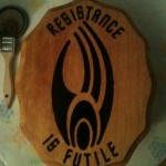 Borg Logo Wood Burning [pic]