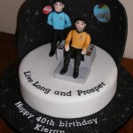 Star Trek Live Long and Prosper Birthday Cake [pic]