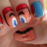 Super Mario Fingernail Art [pic]