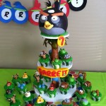 Amazing Angry Birds Cupcake Tower [pics]