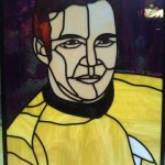 Captain Kirk Stained Glass [pic]