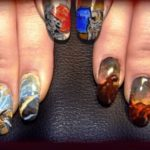 Diablo 3 Fingernail Art [pic + video]